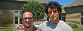 MOS - Henry Cavill  with pastor