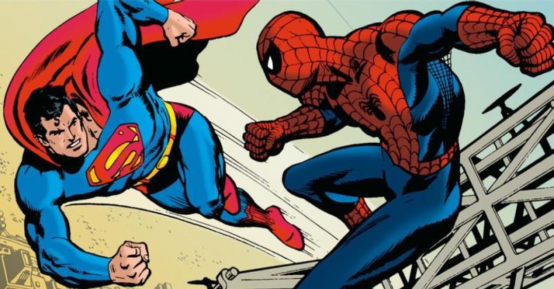 Superman-spider-man-image